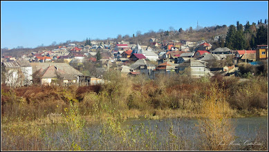 Photo: Vedere panorama de pe digul din zona la Str. Stefan cel Mare - 2016.11.21pe dig - 2016.11.21