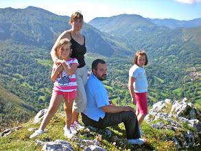 Photo: Familia Francos: CANCHITA, JOSÉ RAMÓN, CELIA y LUCIA.