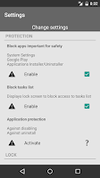 Screenshot of Applock Guardian