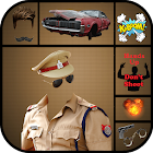 Police Man Suit Photo Editor - Uniform Dress Maker icon