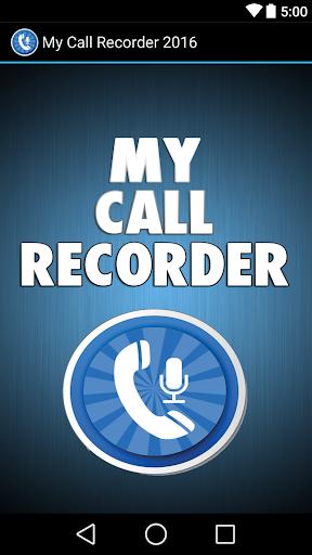 My Call Recorder 2016