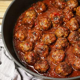 Marinated Beef Meatballs (Mshikaki).