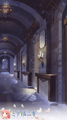 月夜の回廊