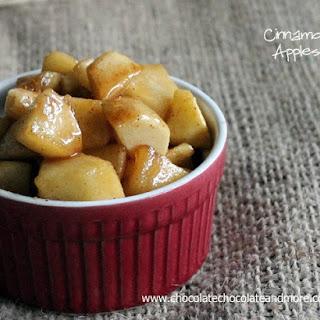 Cinnamon Apples.