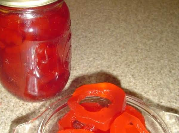 Cucumber Spice Rings Recipe