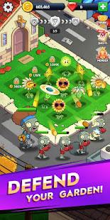 Merge Flowers vs. Zombies MOD apk
