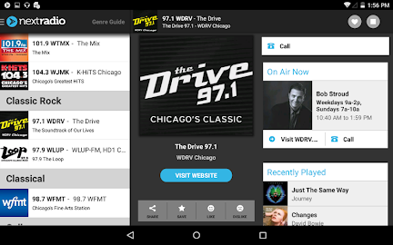 NextRadio - Free Live FM Radio Screenshot 10