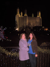 Photo: 12/29: We visited the D.C. Mormon Temple to see their light display and nativities of the world - a Christmas season tradition.
