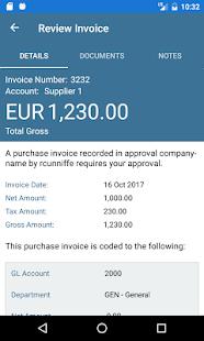 AccountsIQ - náhled
