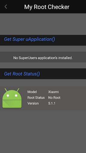 Root-Checker 1.0 screenshots 3