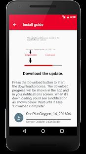 Oxygen Updater Screenshot