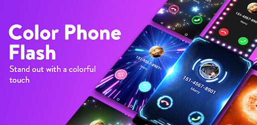 Color Phone Flash - Call Screen Changer Aplikacije (APK) brezplačno prenesete za Android/PC/Windows screenshot