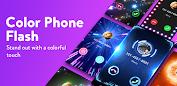 Color Phone Flash - Call Screen Changer Appar (APK) gratis nedladdning för Android/PC/Windows screenshot