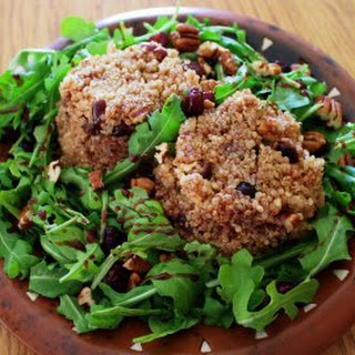 Warm Nutty Quinoa and Cherry Salad Recipe
