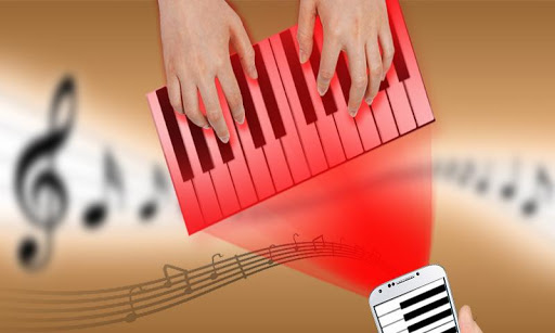 免費下載娛樂APP 假全息图钢琴投影机 app開箱文 APP開箱王