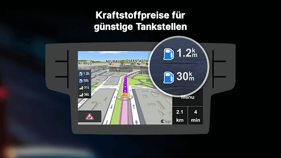 Sygic Auto Connected Navigation Screenshot
