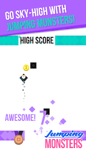 AMAZING JUMPING MONSTER SAGA v1.0.11 Mod Money