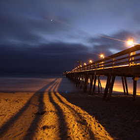 by Christopher Payne - Landscapes Waterscapes ( night, lights, , landscape, beach, color, colors, portrait, object, filter forge )