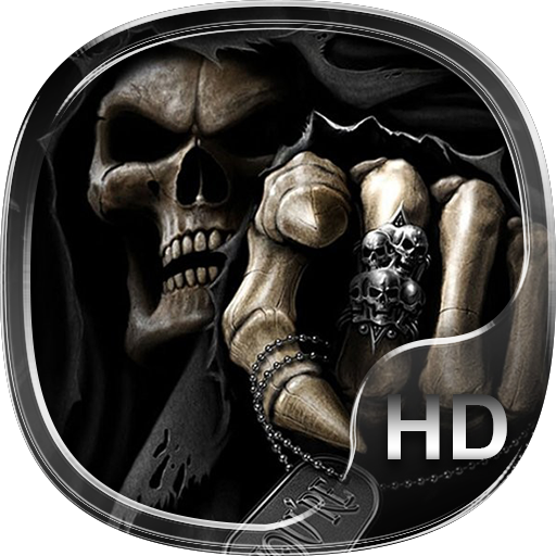 skull family live wallpaper HD (app)