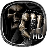skull family live wallpaper HD Icon