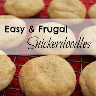 No-Butter Snickerdoodle Cookies