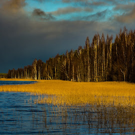 Before the storm by Simo Järvinen - Landscapes Weather ( weather, dramatic, clouds, water, landscape )