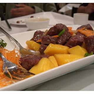 Mango Beef