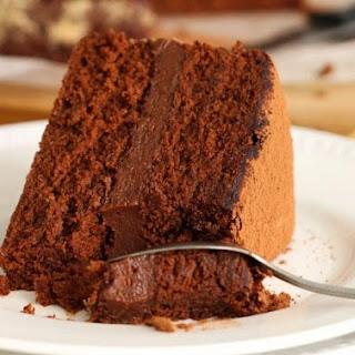 Hazelnut Rocher Cake.
