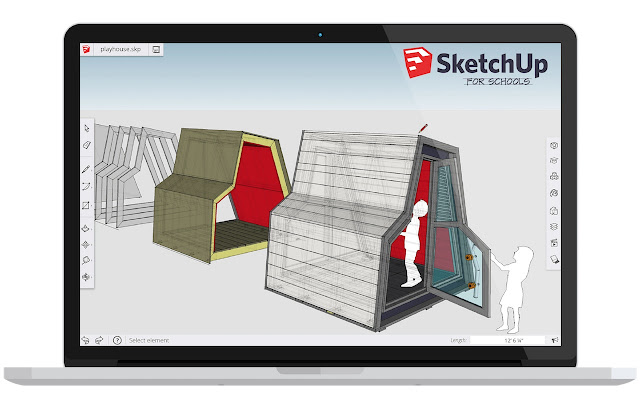 sketchup for schools chrome web store