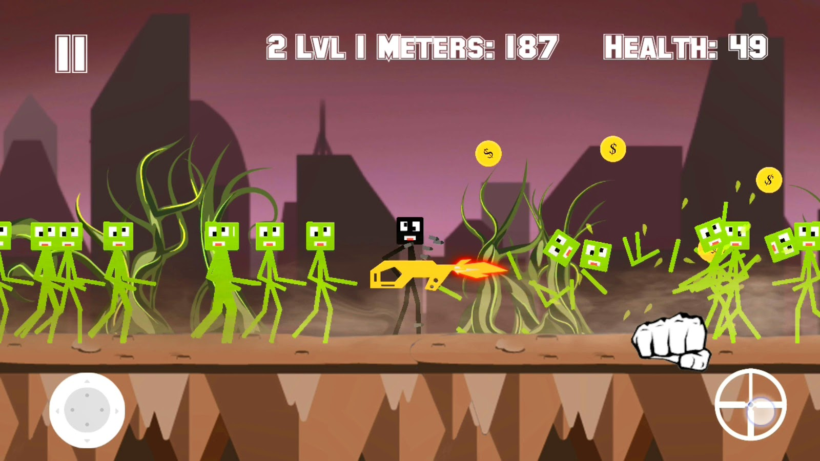 Anger of Stickman- screenshot