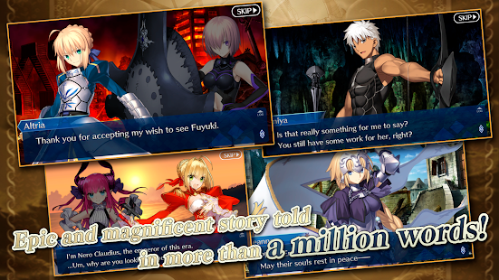 Fate/Grand Order Screenshot