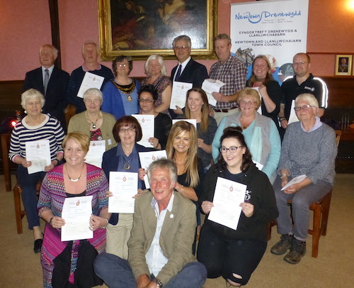 Community groups receive nearly £10k grants