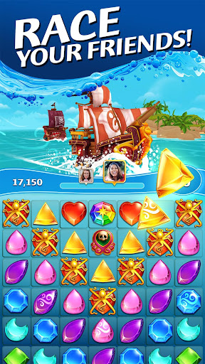 Pirate Puzzle Blast - Match 3 Adventure apkdebit screenshots 2
