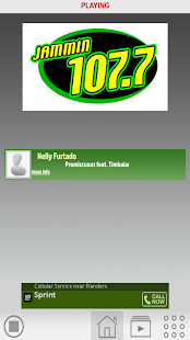 Jammin 107.7- screenshot thumbnail