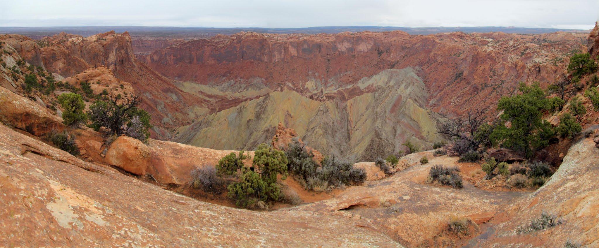 Photo: Upheaval Dome panorama