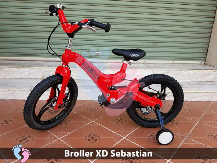 Xe đạp cho bé Broller XD Sebastian 4