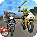 Crazy Bike attack racing new icon