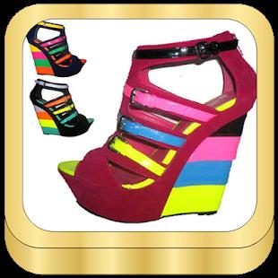 Úžasné klíny boty - náhled