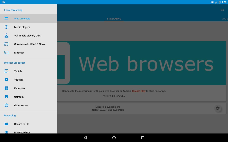 screen stream mirroring pro screenshot