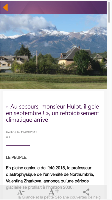 Le Peuple- screenshot