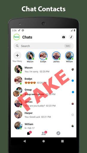 Fake Chat Conversation - prank Apk 1