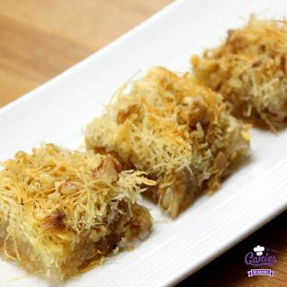 A Sweet & Crispy Dessert (Kadayif)
