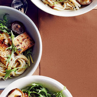 Udon Noodle Salad with Teriyaki Tofu Recipe