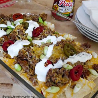 Low Carb Beef Nachos