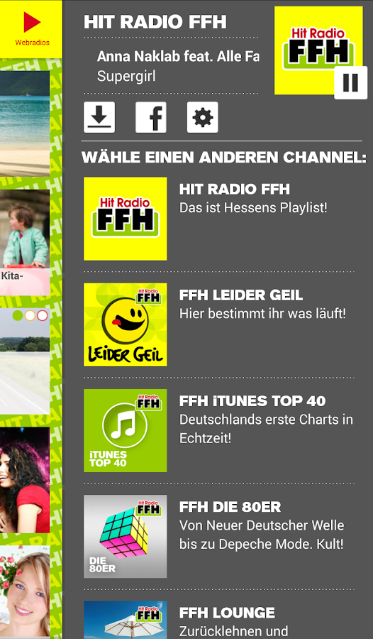 HIT RADIO FFH- screenshot