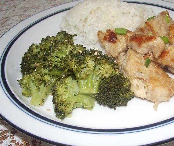 Sesame And Lemon Broccoli Recipe