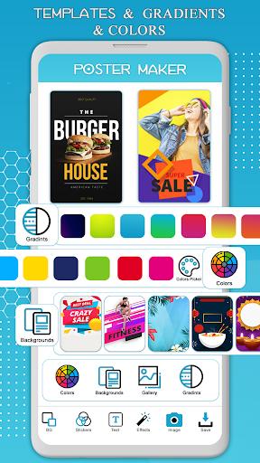 Poster Maker, Flyer Designer, Ads Page Designer 2.2 screenshots 2