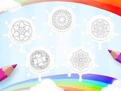 Download Color Me Mandala Coloring Book For PC Windows And Mac Apk Screenshot 3