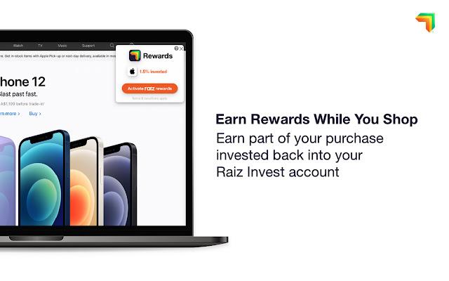 Raiz Rewards Browser Extension