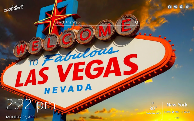Las Vegas HD Wallpapers New Tab Theme